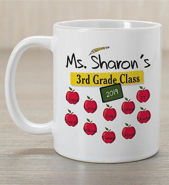 Personalized Teacher's Class Teacher Mug