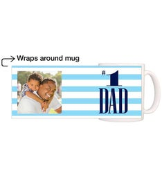 Personalized First Rate Dad Magic Mug