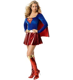 Supergirl One Piece Adult Costume