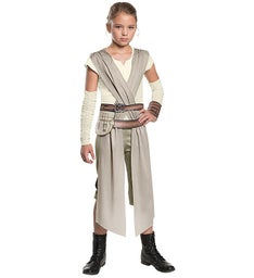 Star Wars The Force Awakens - Rey Dlx Costume