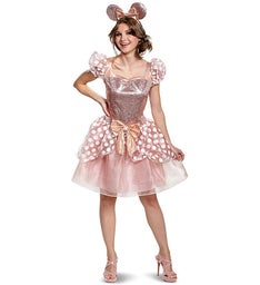 Rose Gold Minnie Deluxe Adult Costume