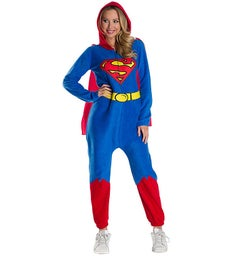 DC Super Heroes Superman Womens Onesie Costume