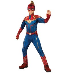Captain Marvel Hero Suit Deluxe Child Costume