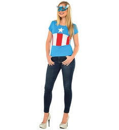 Avengers American Dream Costume and Mask