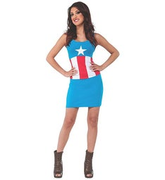 Avengers Captain America Dress