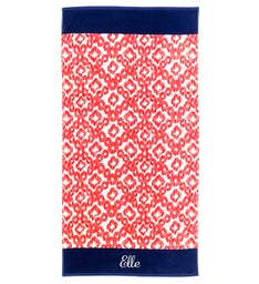 Personalized Catalina Towel