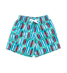 Personalized Wave Rider Boys Swim Trunks